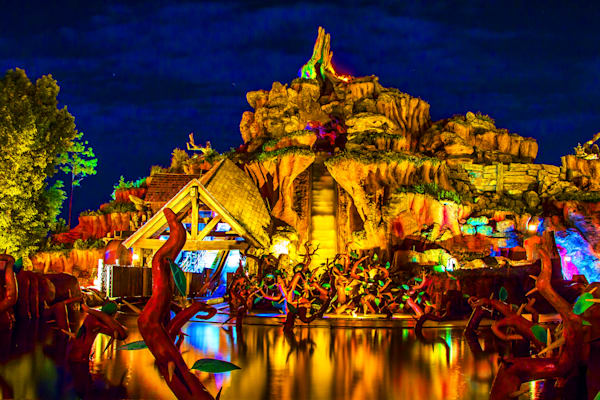 Splash Mountain Calm 2 - Disney Art | William Drew