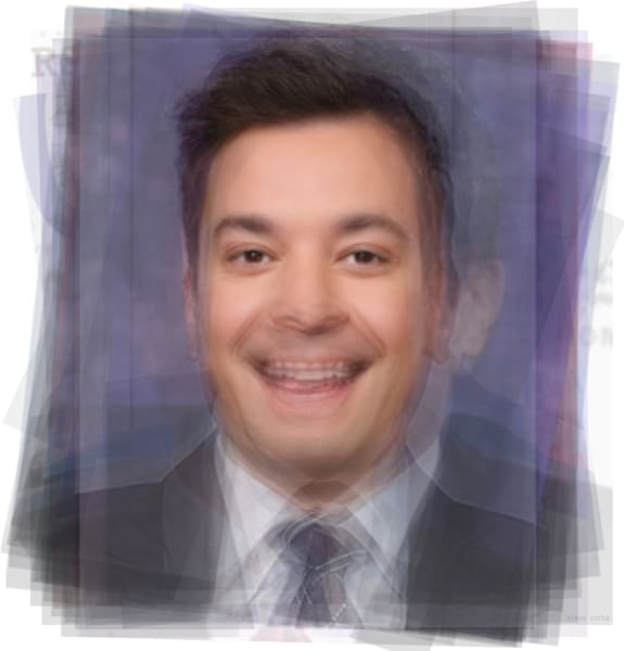 Overlay art – contemporary fine art prints of Jimmy Fallon