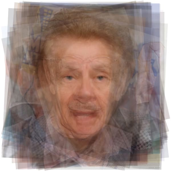 Overlay art – contemporary fine art prints of Frank Costanza from Seinfeld