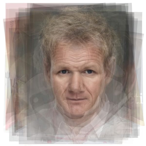 Overlay art – contemporary fine art prints of Gordon Ramsay