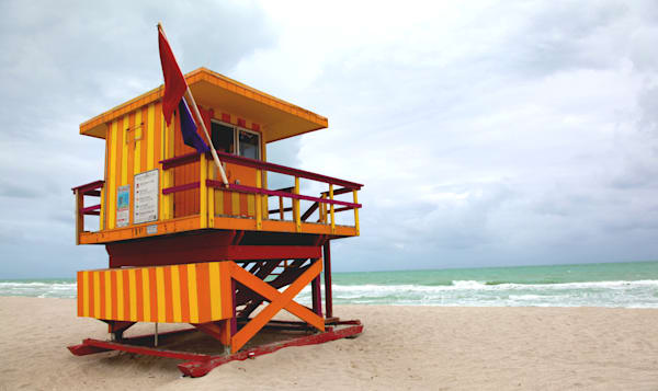 Miami south beach fine art photographic prints for sale by Michael Toole