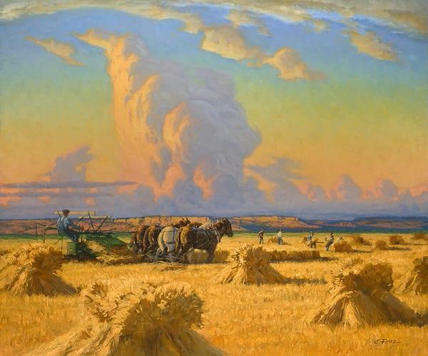 Harvest Under the Big Sky