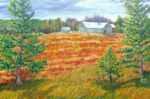 After The Harvest Art | Quiescent Reflections