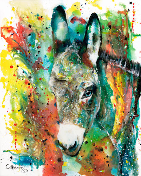 Ink Series Donkey 1