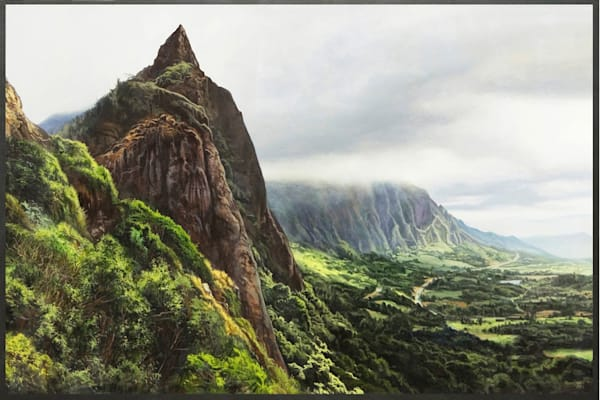 Pali Overlook in Hawaii | Kevin Grass Fine Art