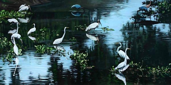 Intruder art print   Kevin Grass Fine Art