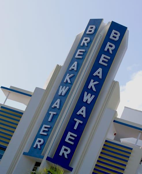 Breakwater Hotel Miami Beach Photograph Art Prints For