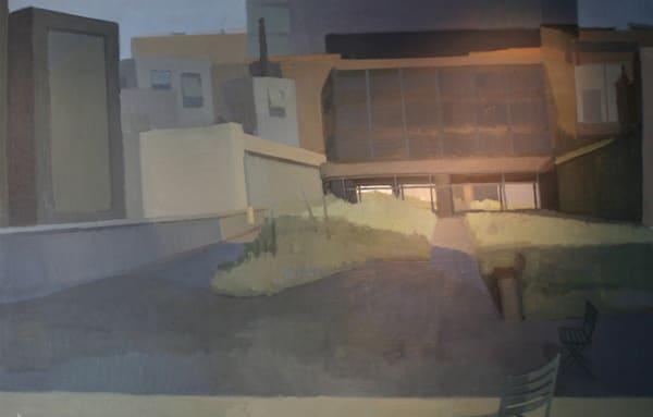 Shop for original paintings like Highline Corridors Chelsea, oil on canvas by Shannon Rogers at Matt McLeod Fine Art Gallery.