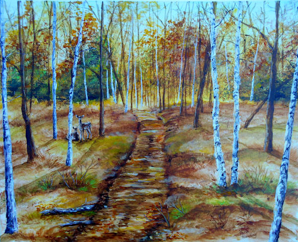"""Fall Path"" by Gina Harding 