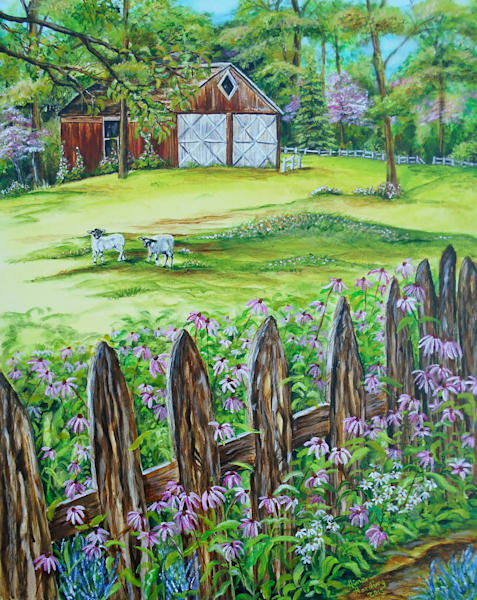 """Hobby Farm"" by Gina Harding 