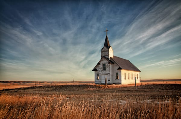 Old Church on the Prairie