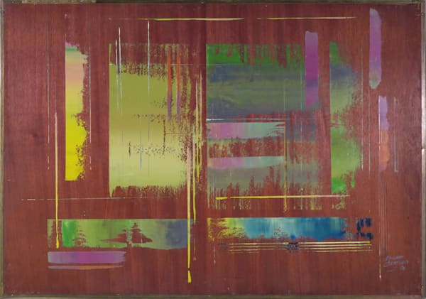 Reversible (A side) painting by Edward Christiana