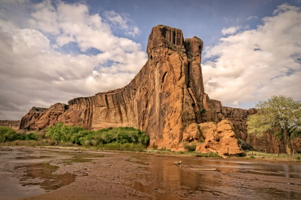 Photographs of Dog Rock Canyon de Chelly | d'Ellis Photographic Art by Bill