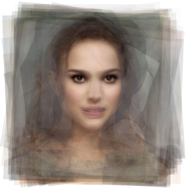 Overlay art – contemporary fine art prints of Natalie Portman