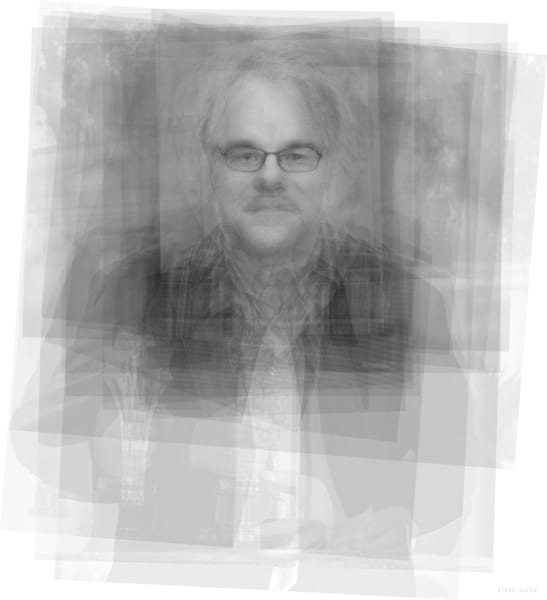 Overlay art – contemporary fine art prints of Philip Seymour Hoffman