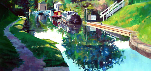 Brecon and monmouthsire canal art print