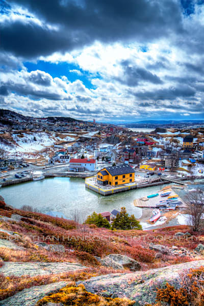 East Coast Trail View   Quidi Vidi Art | Hancock Gallery