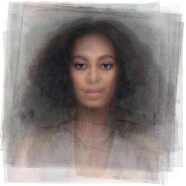 Overlay art – contemporary fine art prints of Solange Knowles