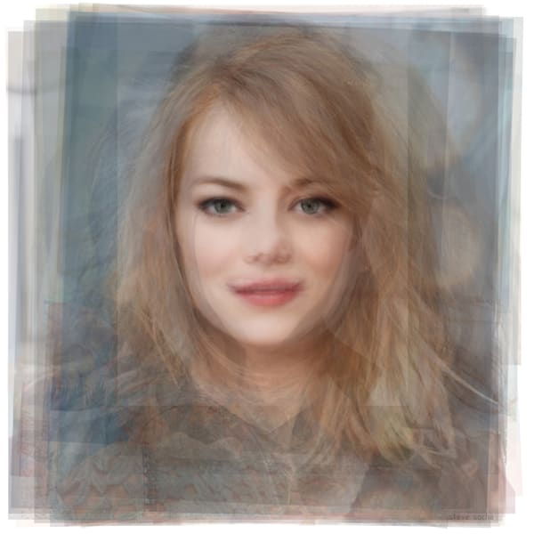 Overlay art – contemporary fine art prints of Emma Stone