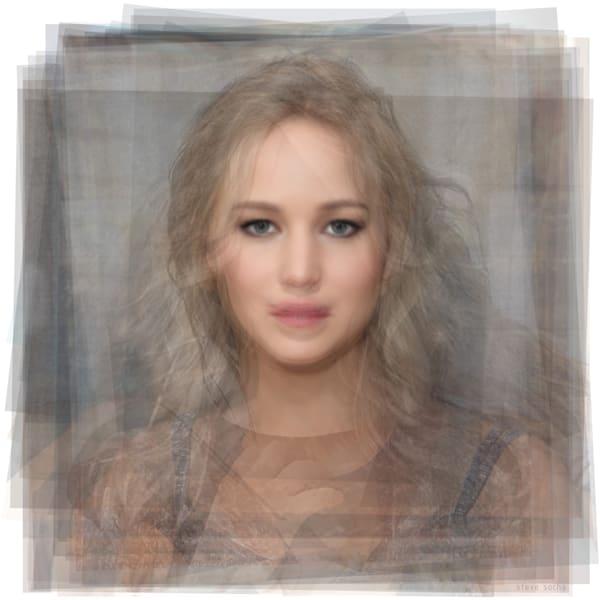 Overlay art – contemporary fine art prints of Jennifer Lawrence