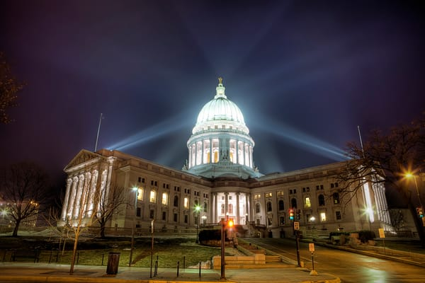 HDR 112: Wisconsin State Capitol Building, Madison