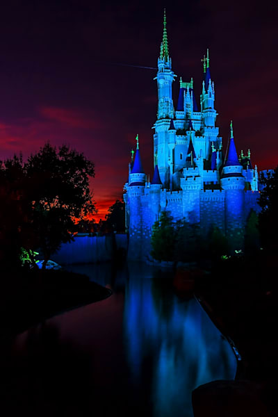 Disney Castle 1 - Disney Art Prints | William Drew Photography