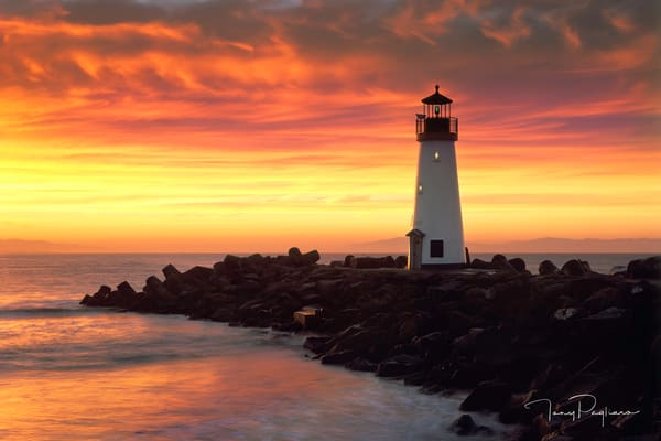 Walton Lighthouse 2 Art | Tony Pagliaro Gallery