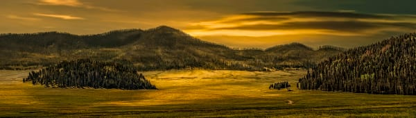 Magic Glow at Valles Caldera, d'Ellis Photographic Art photographs, Elsa