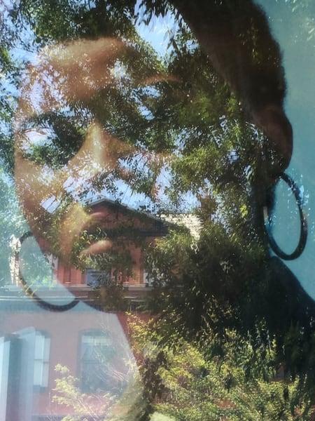 Mesmerizing window reflection for sale. Richard Carlton London