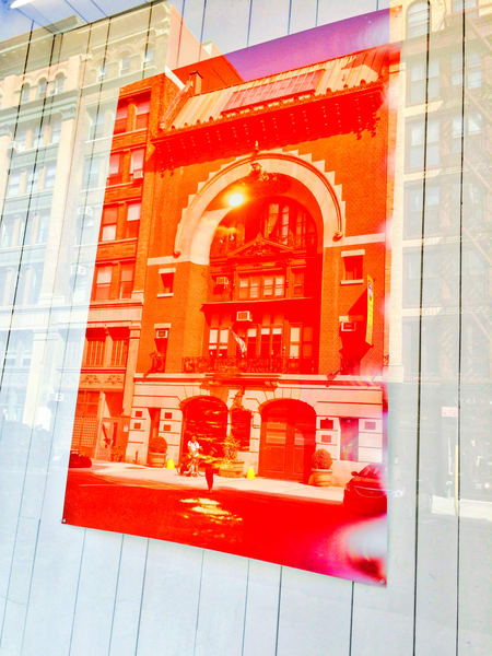 Great Jones Firehouse Manhattan. architectural photograph