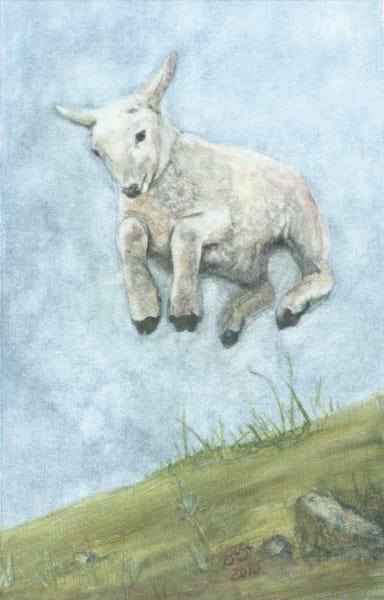 Lamb Leaping