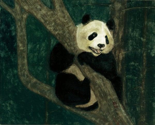 Panda Between Meals Art | Blissful Bonita Art Studio & Gallery