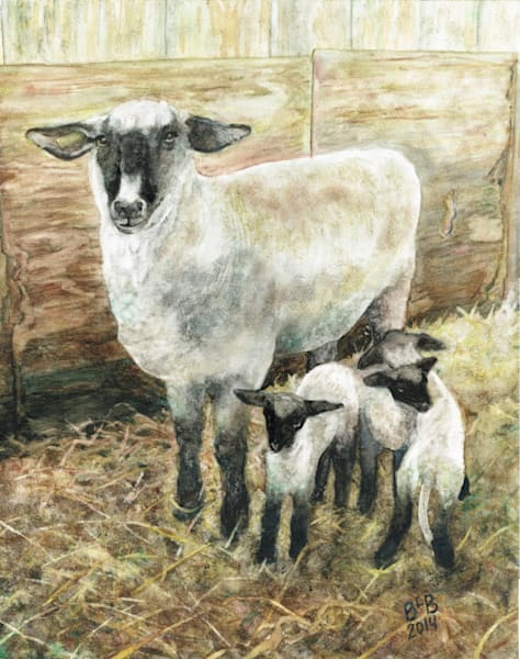 Shropshire Triplets Art by blissfulbonita
