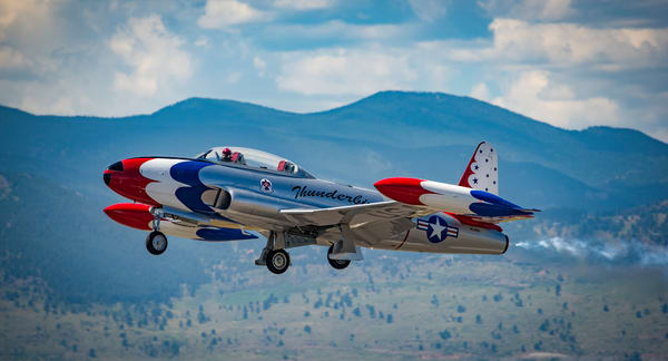 Photo of Lockheed T-33A Shooting Star (T-Bird) Jet
