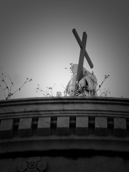 With the Cross