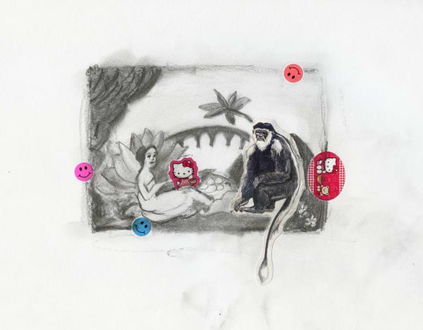 Laurencin's Monkey - print