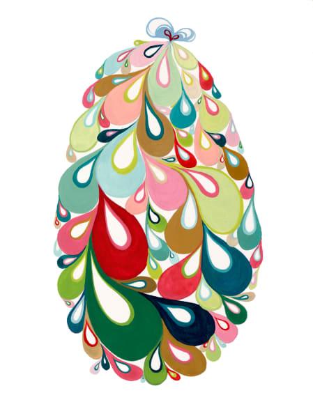 Swirl Egg (bg/pink)