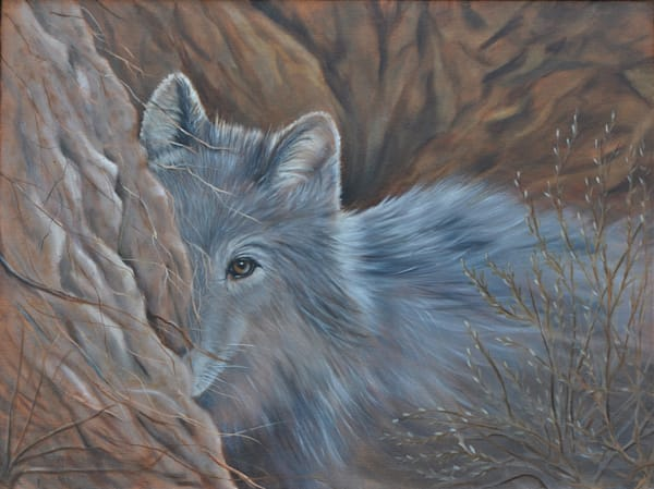 She Wolf hiding