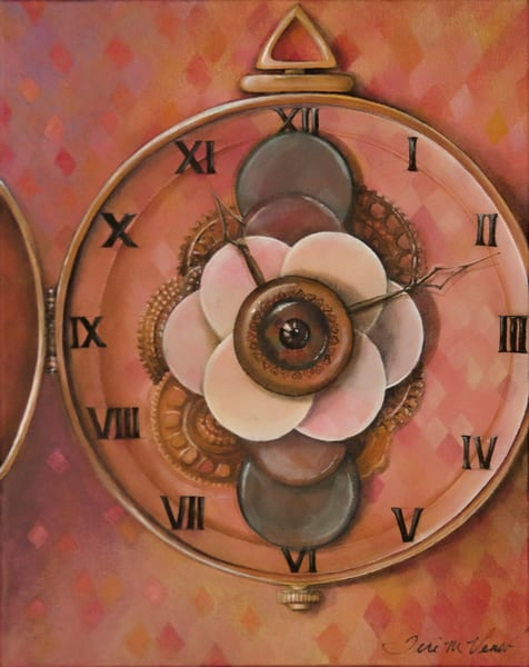 Designs by Teri | Teri Vereb Fine Art Paintings | Clock