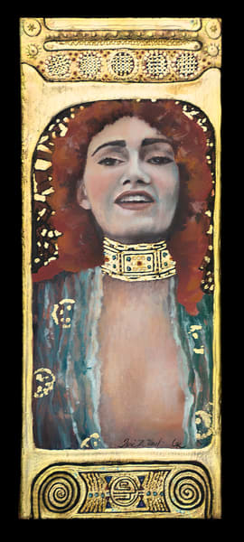 Designs by Teri | Teri Vereb Fine Art Paintings | Red | Klimt