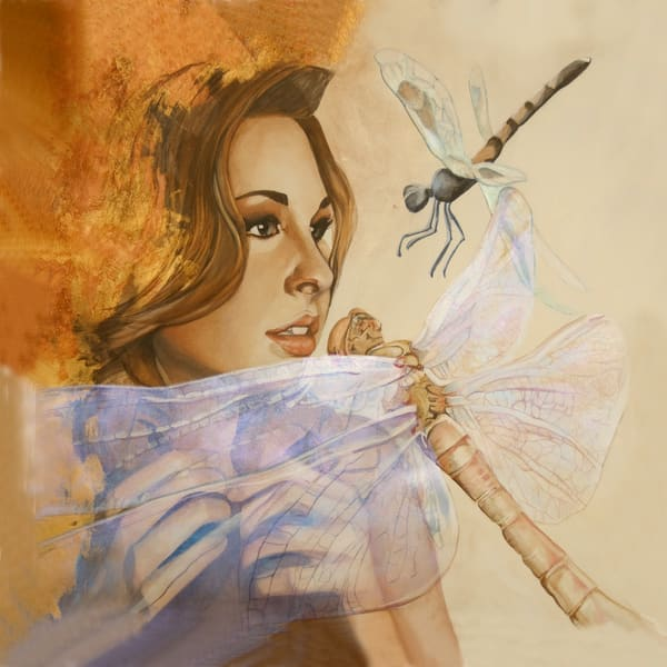 Designs by Teri | Teri Vereb Fine Art Paintings | Dragonfly