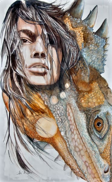 Designs by Teri | Teri Vereb Fine Art Paintings | Lizard