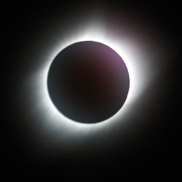 Buy Totality Solar Eclipse photograph print as fine art by Mike Jensen