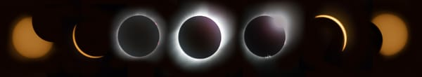 Purchase Total Solar Eclipse Phases photograph print as fine art by Mike Jensen