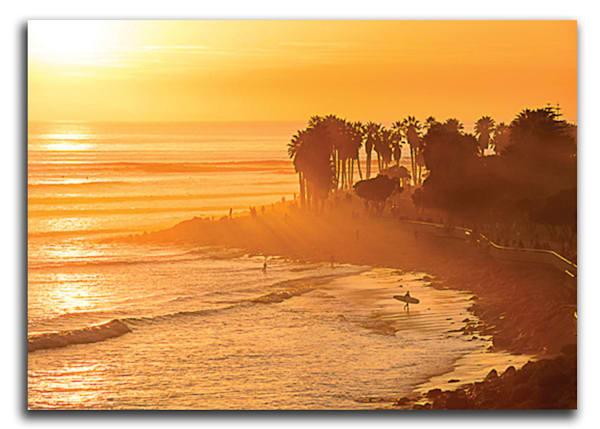 C-Street Sunset Acrylic Print