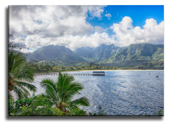 Hanalei Paradise Wrap Canvas