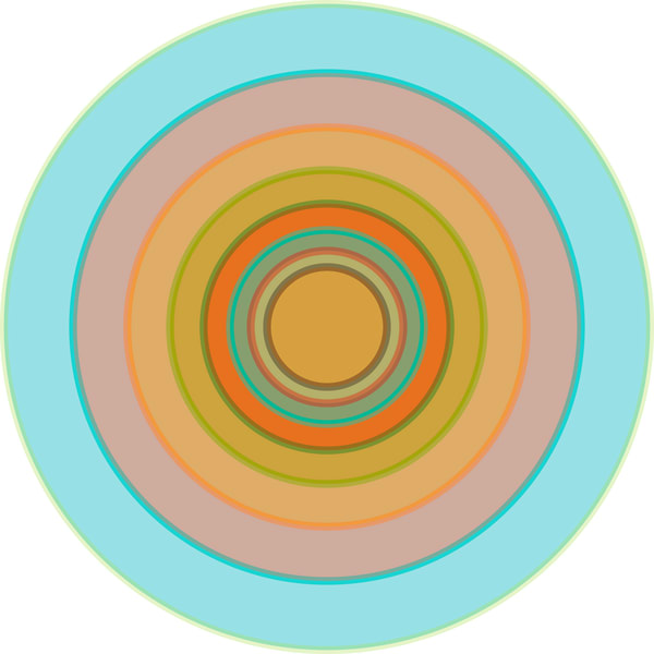 Orbital. A series of meditative art prints by Paul Westacott
