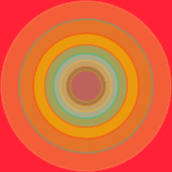 Orbital, With Every Beat, a fine art print by LA based artist Paul Westacott