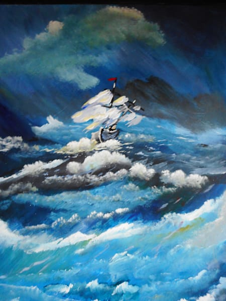 """In The Storm"" by Donald Cooper 