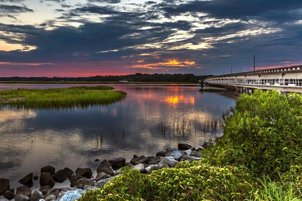 Moon River Sunset II